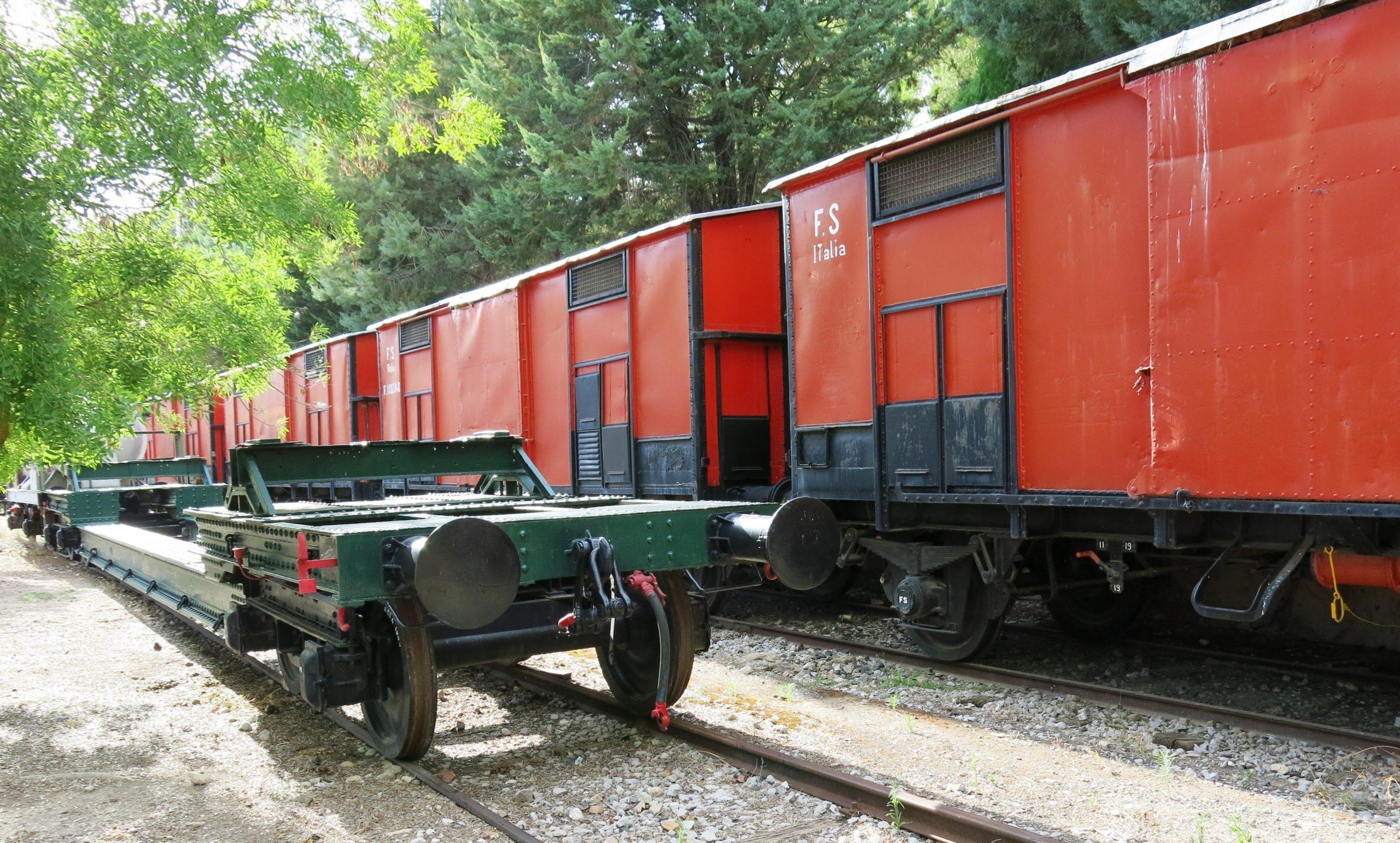 treno museo di villarosa scoprienna